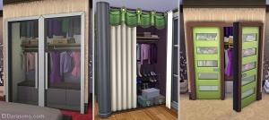 декоративный гардероб в игре
