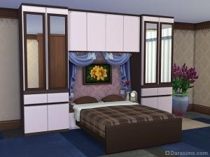 мебель для спальни в симс 4