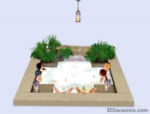 ������� the sims 3 outdoor living