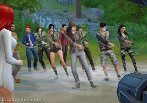 танцевальная вечеринка в sims 4