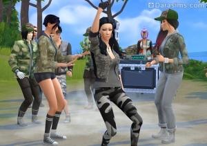 вечеринка с танцами