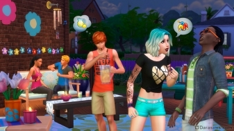 ��������� � �������� �The Sims 4 �� ������ �����