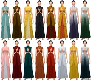 футуристическое платье