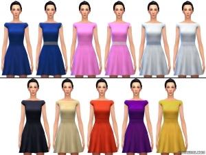 короткое платье в sims 4 city living