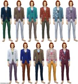 мужская одежда в sims 4 city living