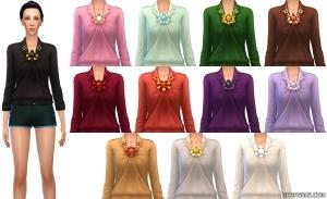 Женский верх в The Sims 4