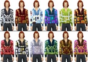 мужская рубашка в симс 4 жизнь в городе