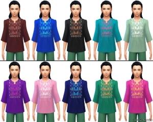 Детская кофта в Sims 4 City living