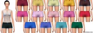 женские шорты симс 4