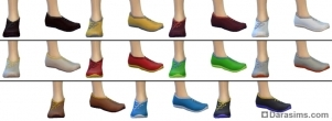 Обувь в Sims 4 City living