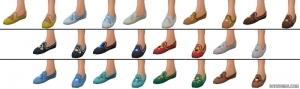 Обувь в Симс 4 редакторе создания персонажа