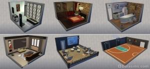 стилизованные комнаты