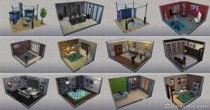 стилизованные комнаты из карьер