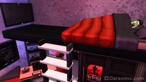 Подвесная двуспальная кровать