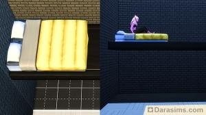Подвесная кровать в Симс 4